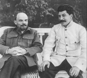 О противопоставлении Ленина и Сталина