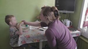 Максим Ш. с мамой