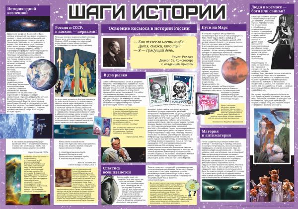 спецвыпуск Освоение космоса в истории России