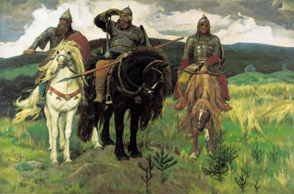 Васнецов - Богатыри