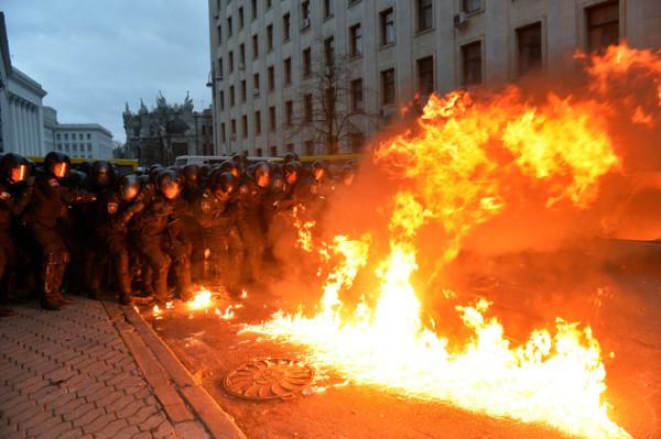 Киев, декабрь 2013 года