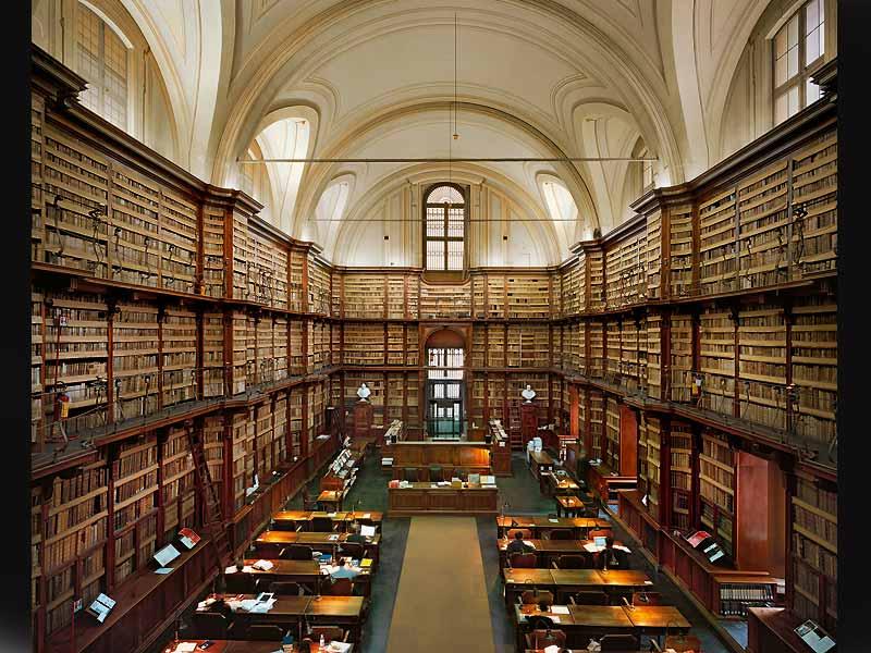 Библиотека_в_монастыре_св_Флориана_Австрия