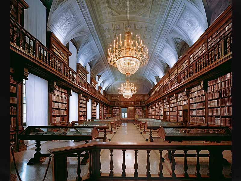 Библиотека изобразительных искусств Милан Италия
