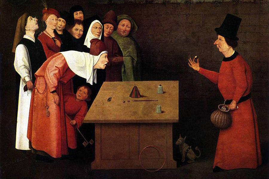 Иероним Босх. Фокусник. 1475–1502