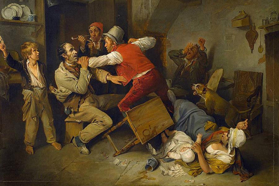 Эдвард Берд. Обман обнаружен. 1814