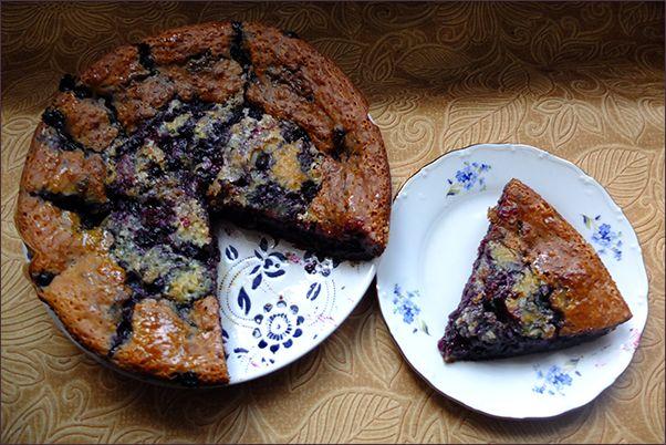 Пирог с чёрной смородиной DSCF1972