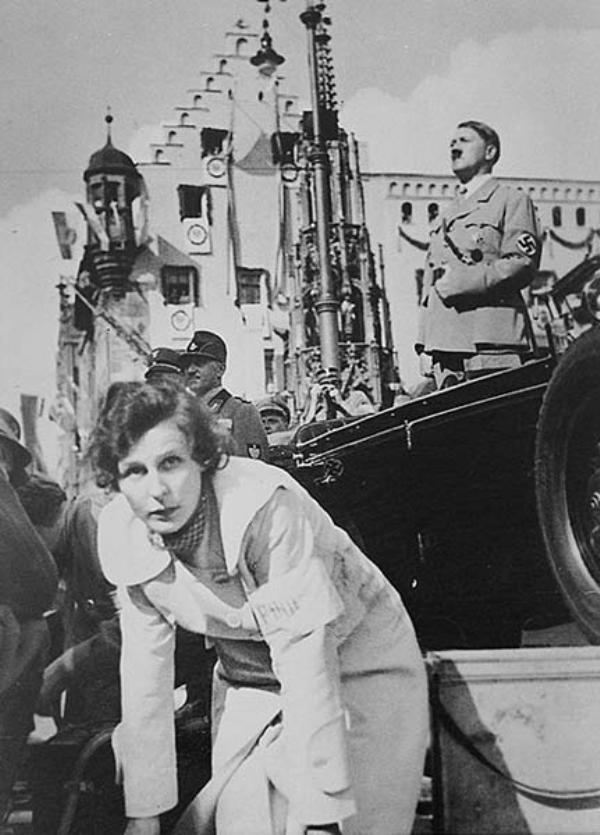 Лени Рифеншталь и Гитлер