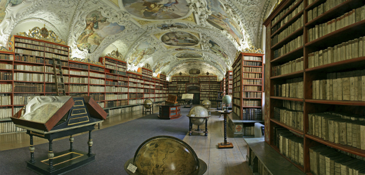 Чехия Национальная библиотека Клементинум