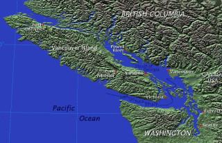Место действия. Остров Ванкувер