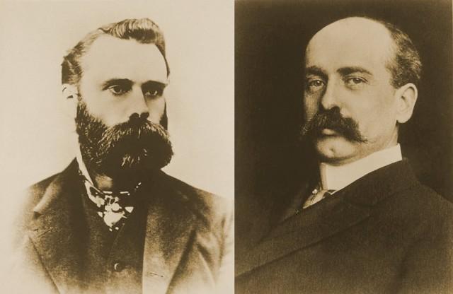 Чарльз Доу (1851 - 1902) и Эдвард Джонс (1856-1920)