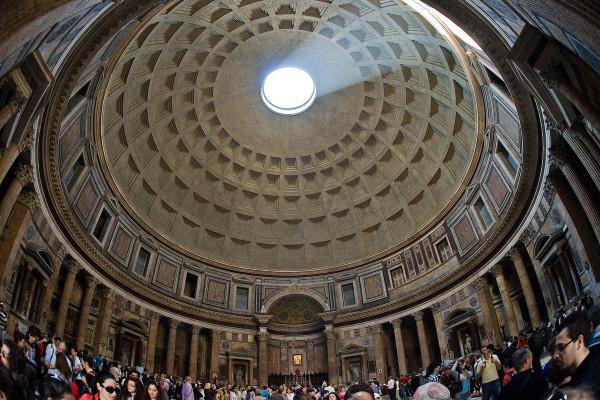 Пантеон - купол