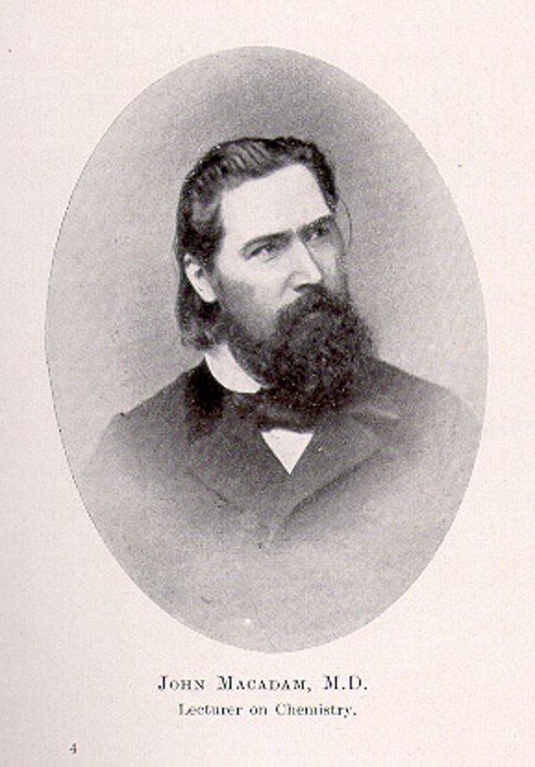 Доктор Джон Макадам (1827 - 1865)