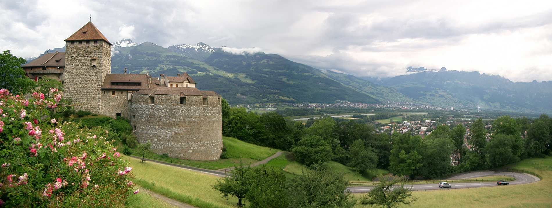 Лихтенштейн. Вадуц. Крепость