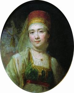 Боровиковский. Портрет крестьянки из Торжка, кормилицы Христины