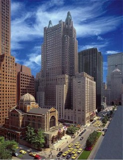"""Гостиница """"Waldorf=Astoria"""" в Нью-Йорке. Современный вид"""