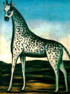 Н.Пиросмани. Жираф