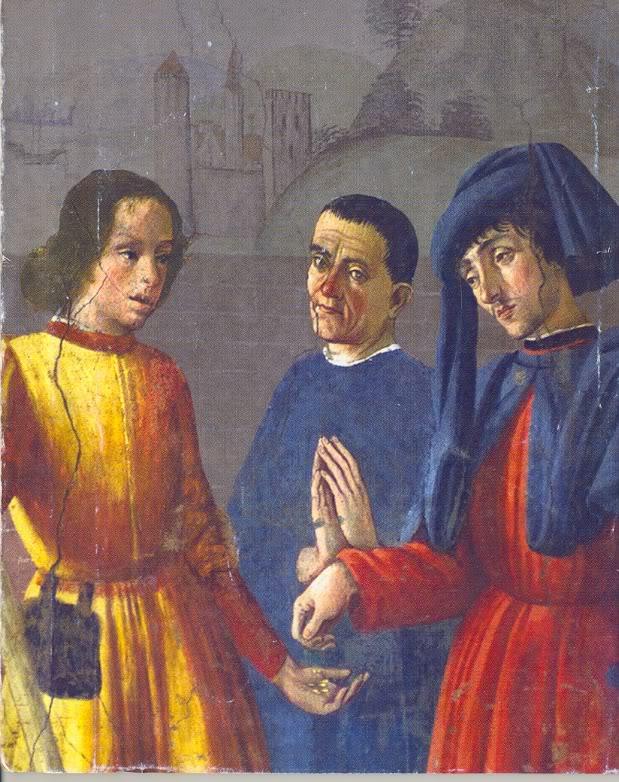 Фреска из капеллы святого Мартина