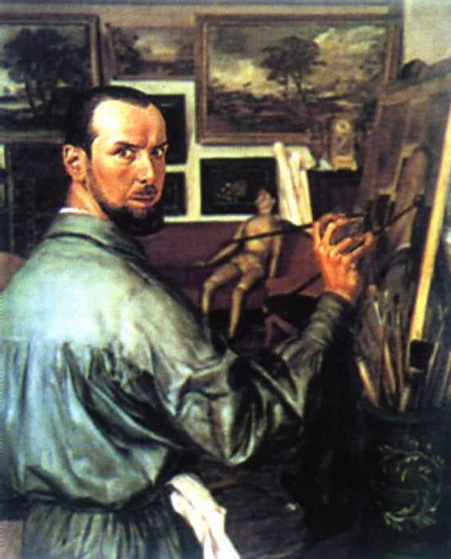 Александр Яковлев. Автопортрет
