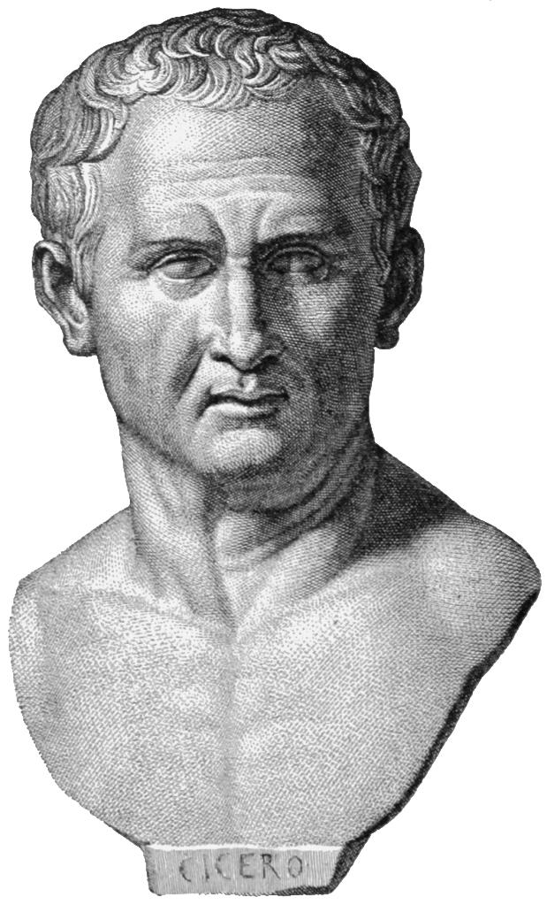 Изобретателем lorem ipsum вполне можно считать Цицерона (106 до н.э. - 43 до н.э.