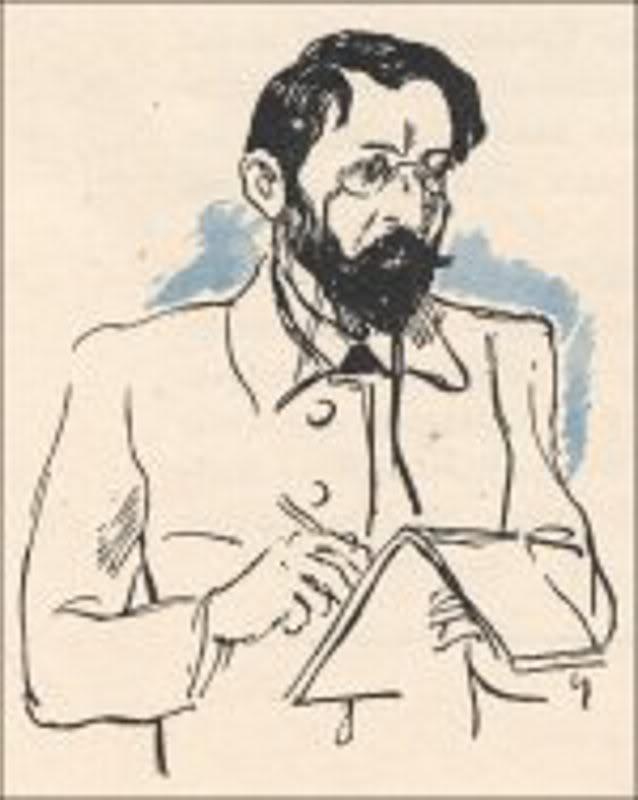 Henri Riviere (1864 - 1951) Автопортрет