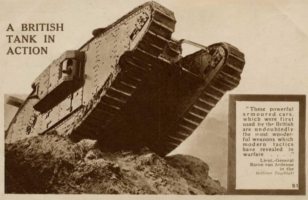 Британскому танку создавали имидж грозного оружия
