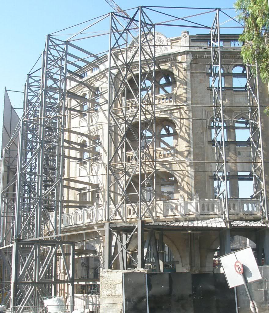 """Реконструкция отеля """"Палас"""". Июль 2010 года"""