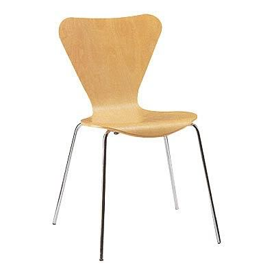 Scandinavian design chairs SERIE 7 by Arne Jacobsen (1955)