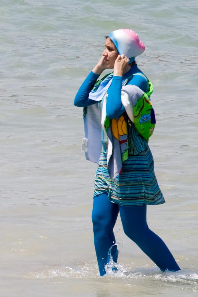 Буркини. Купальный костюм для мусульманок