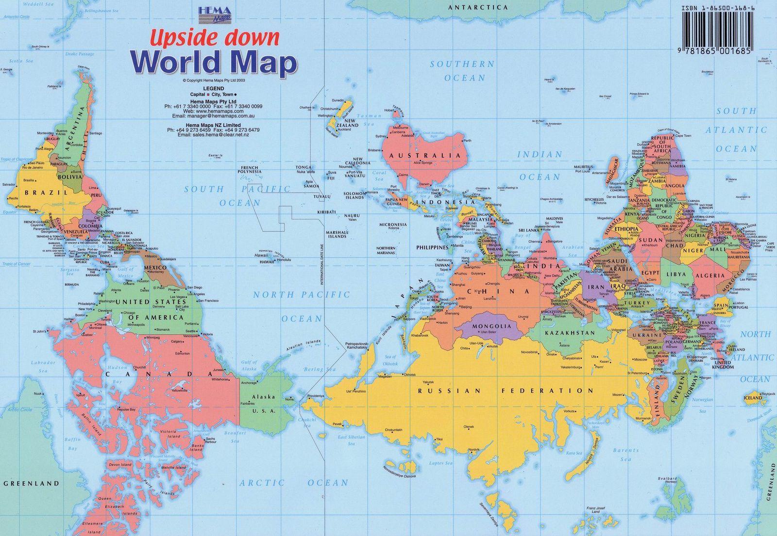 А карта могла бы быть и такой...