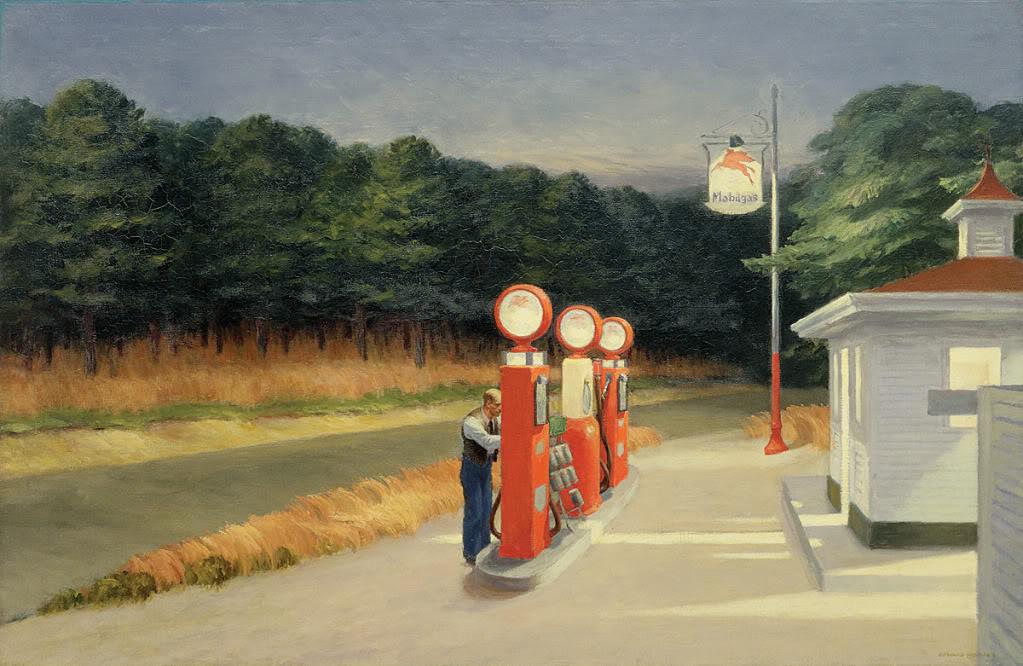 Edward Hopper (1882–1967) - Gas 1940