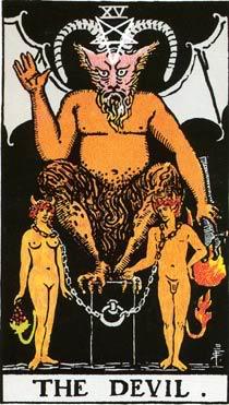 Дьявол - карта таро