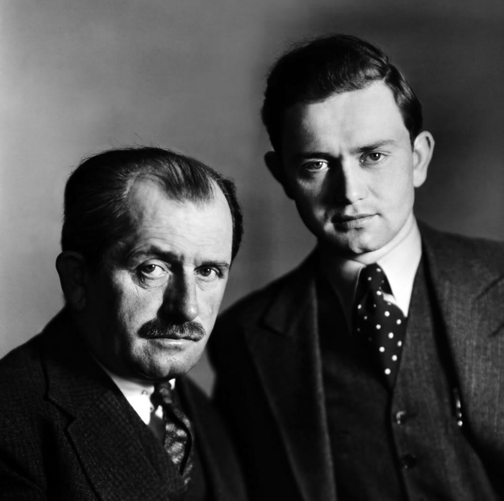 Отец и сын Порше. 1934 год