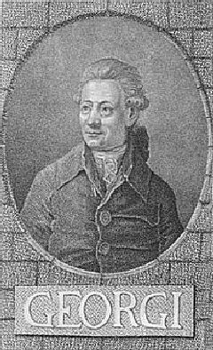 Иоганна Готлиба Георги (Johann Gottlieb Georgi) (1729 – 1802)