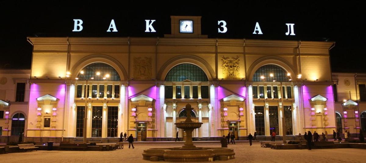 Это не ошибка. Это - вокзал в белорусском городе Витебске