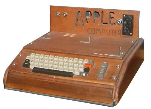 Первый компьютер «Apple I»