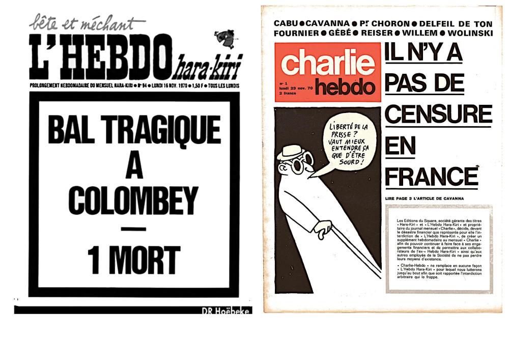 Так начиналась «Шарли Эбдо»