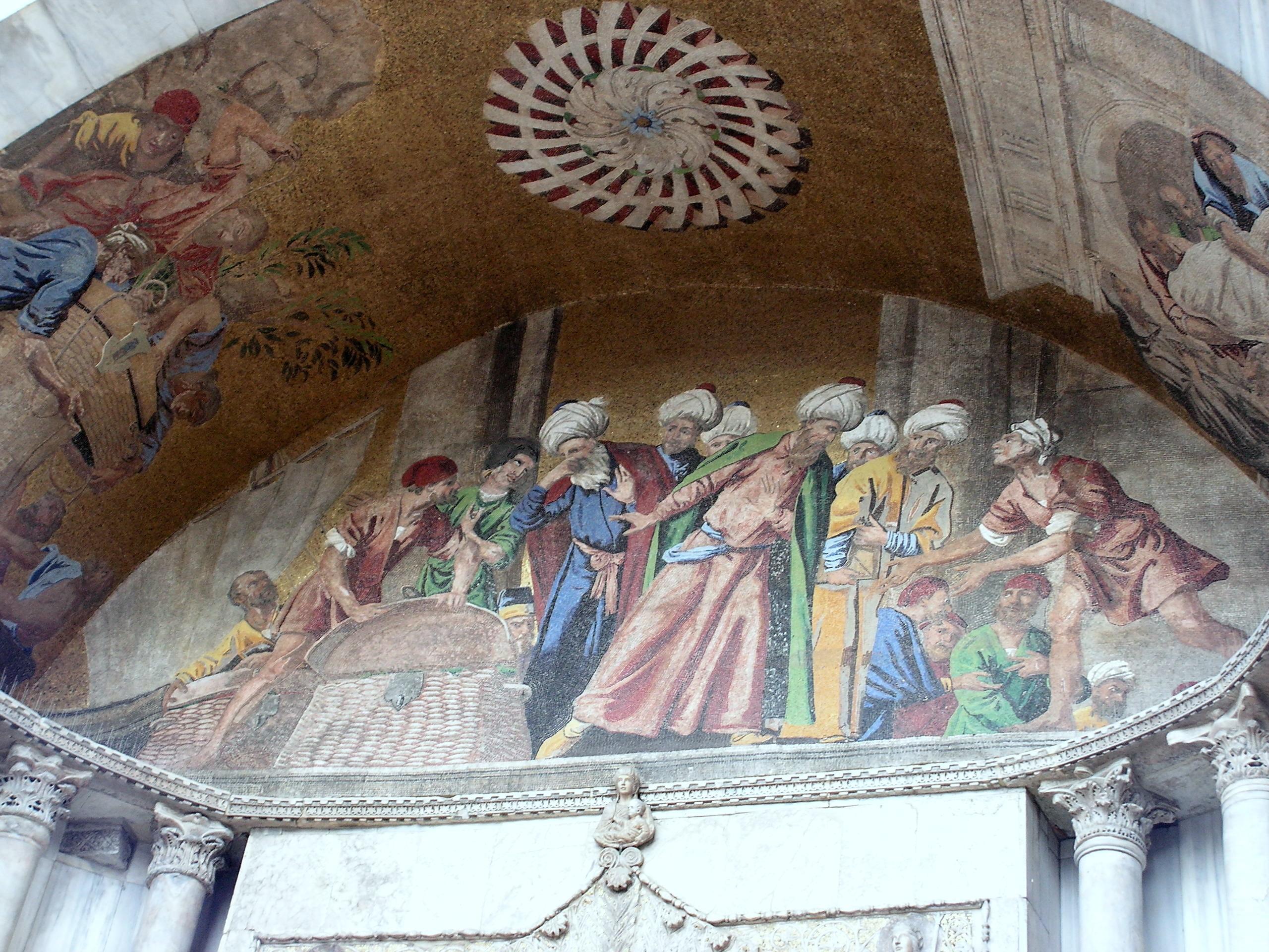 Похищение тела Святого Марка - Венеция