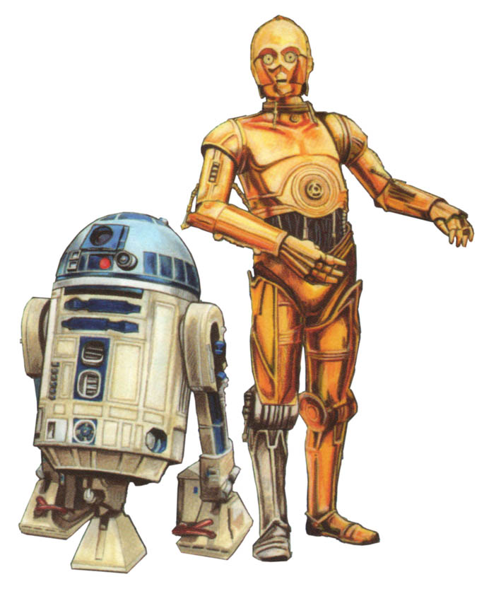 Droid и Roboto