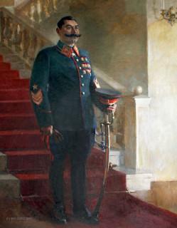 Николай Денисовский. Портрет маршала Советского Союза С.Буденного (1941)