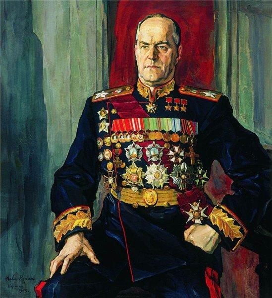 Жуков художник П.Корин