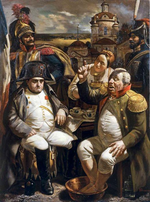 Кутузов и Наполеон Василий Шульженко