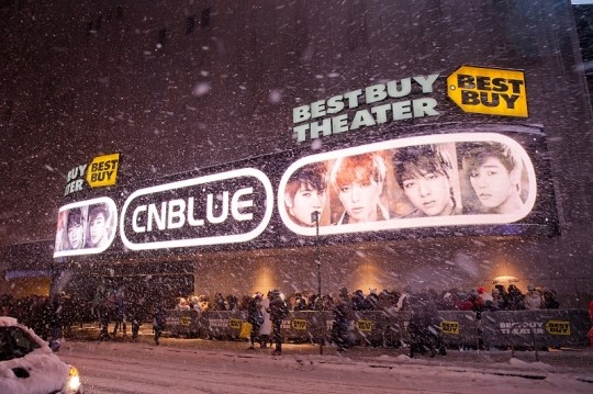 best buy theather - outside