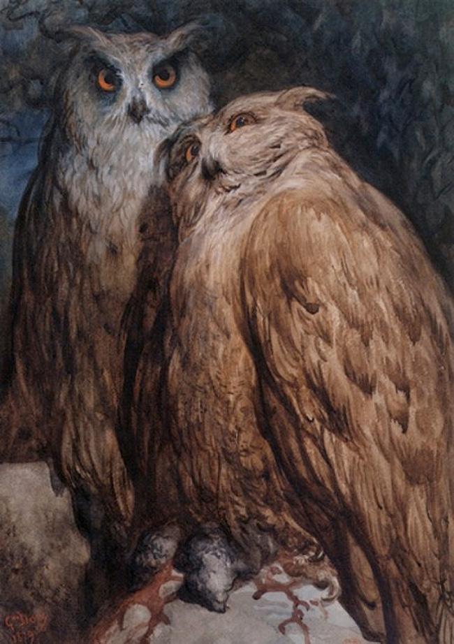 Две-совы-von-Gustave-Dore-15485