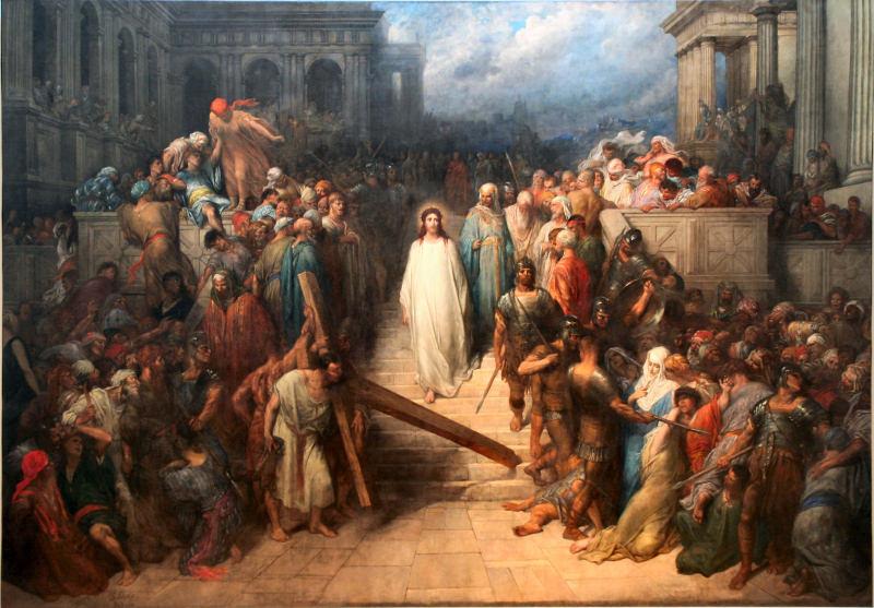 Христос, покидающий преторию