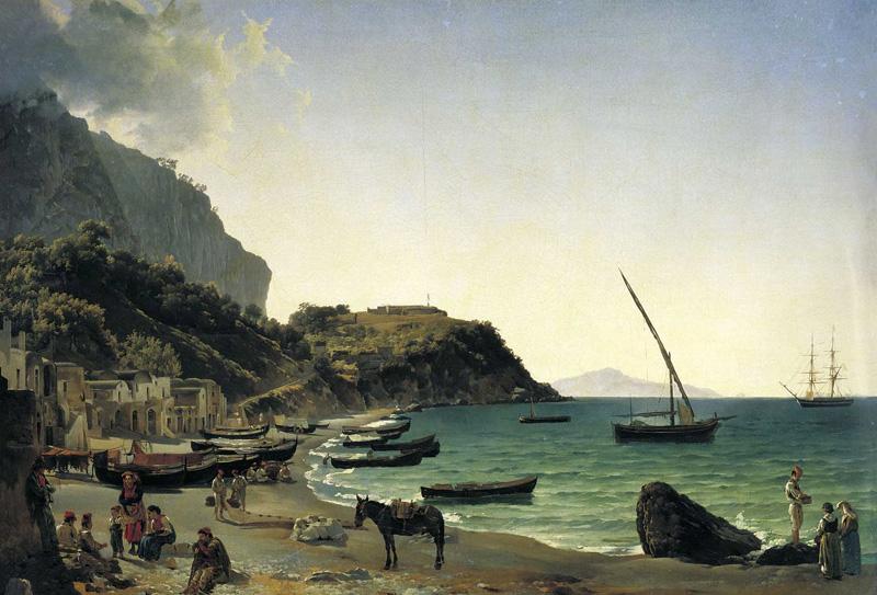 Большая-гавань-на-острове-Капри