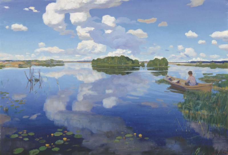 Г.М. Бобровский. Озеро