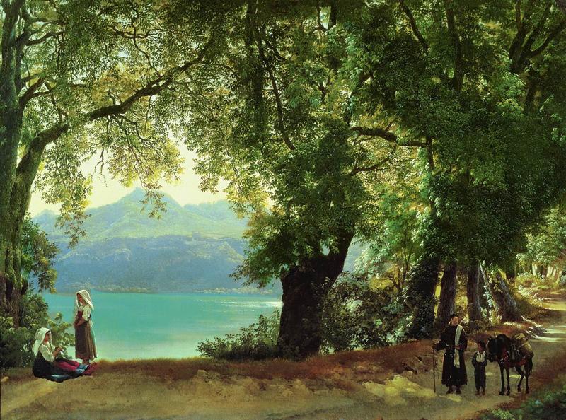 Озеро-Альбано-В-Окрестностях-Рима