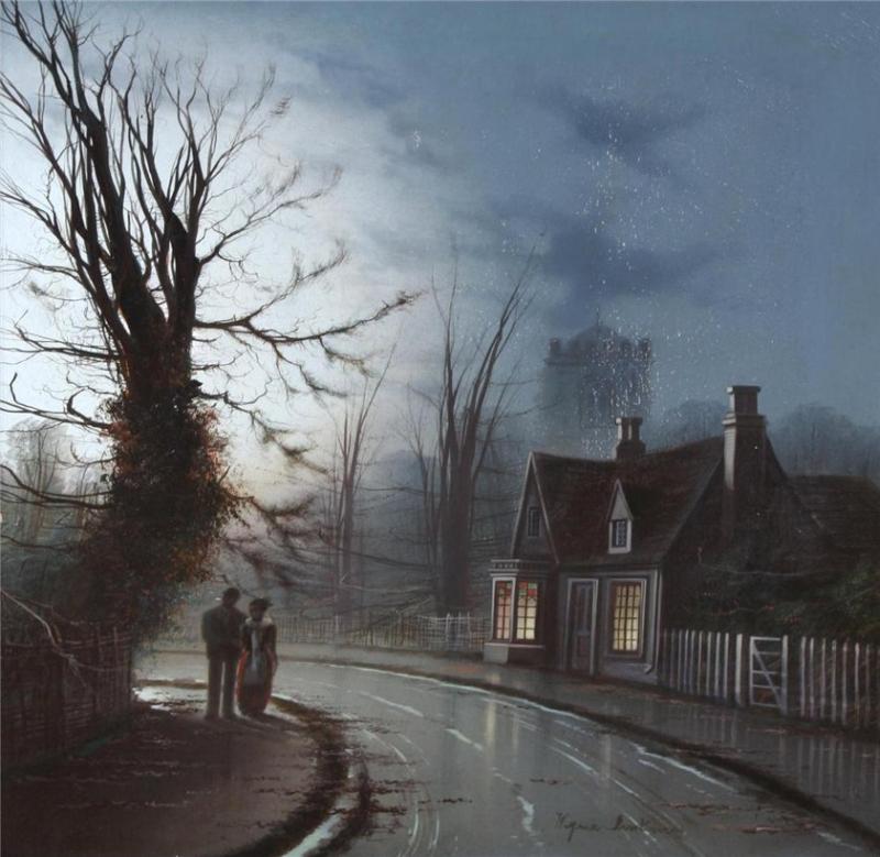 Lovers-on-a-moonlit-street-Wilfred-Jenkins-Oil-Painting.jpg