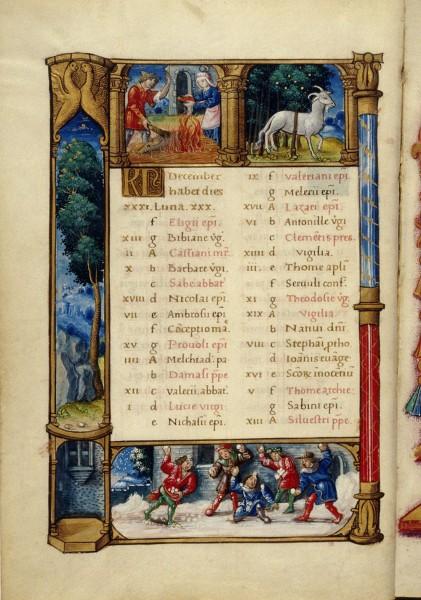 December,-book-of-hours-(Douce-135,-fol