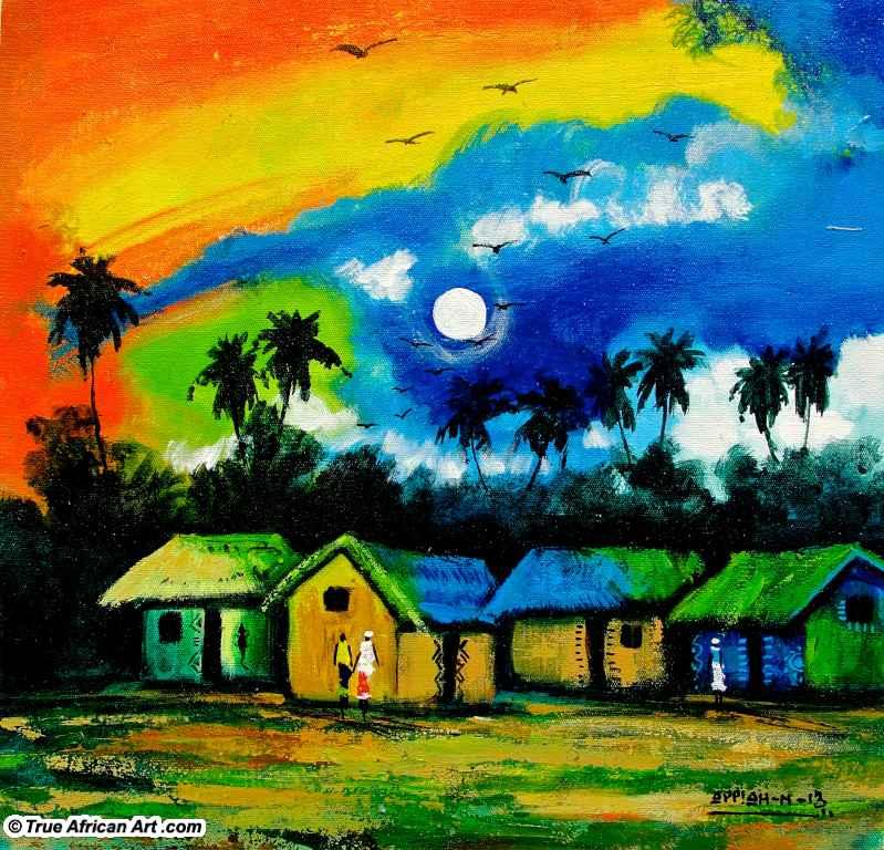 Village Moon